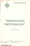 Non-Violent Nationalism